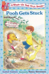 Pooh gets stuck
