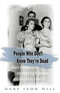 Voorzijde boek: People who don't know they're dead