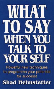 Voorzijde boek: what to say when you talk to yourself
