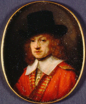 Portret van Jan Six I door Gerard ter Borch, 1640