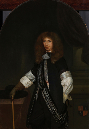 Portret van Jacob de Graeff door Gerard ter Borch, 1670-1681